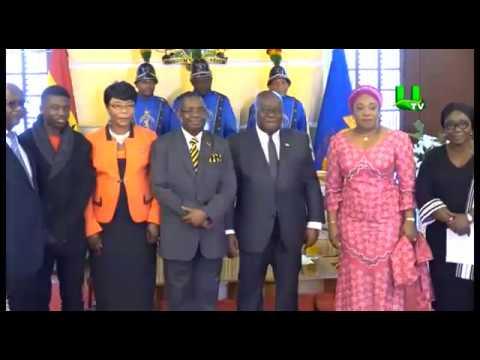 Two ambassadors present credentials to Prez. Akufo-Addo