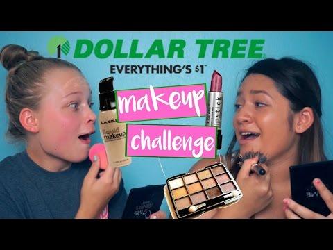 Dollar Tree Makeup Challenge!
