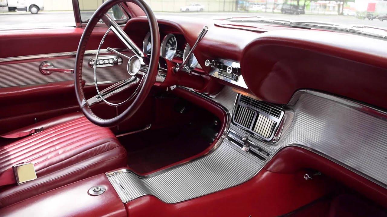 Walk Around Start 1962 Ford Thunderbird 2505 Youtube