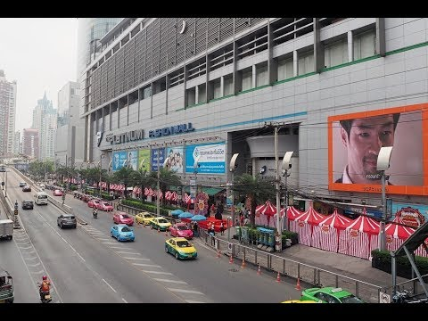 2017 Bangkok Day 3 - Heading to Platinum Fashion Mall