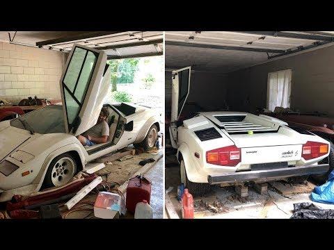 Когда парень открыл старый гараж своей бабушки, он обнаружил раритетный Lamborghini