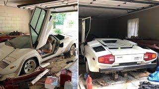 Когда парень открыл старый гараж своей бабушки, он обнаружил внутри нечто неожиданное