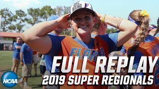 Florida vs. Tennessee: 2019 NCAA softball super regionals   FULL REPLAY