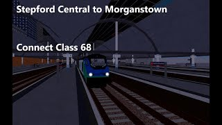 Stepford County Railway - Stepford Central to Morganstown - Class 68 Connect - Roblox