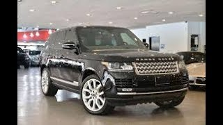 2013 Range Rover Supercharged Review - Buying a Range Rover? Here