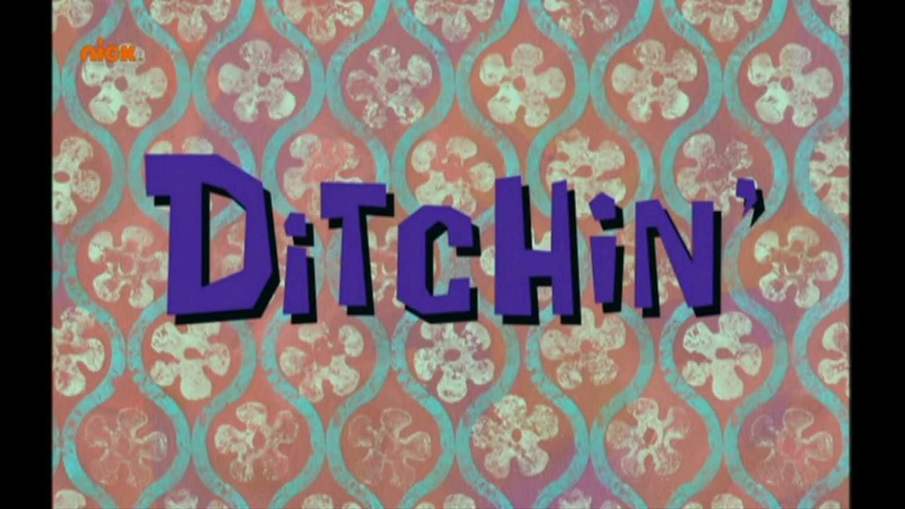 SpongeBob SquarePants: Dear Vikings/Ditchin' Title Card (Russian, 2021 Redub)