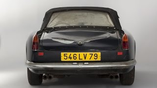 The Great Barn Find, Ferrari 250 California Spider, All the Cars from the Baillon Barn Find (In HD)