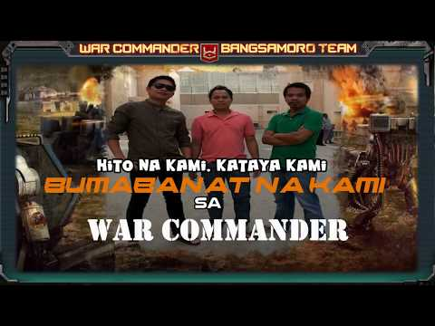 WAR COMMANDER - BANGSAMORO TEAM