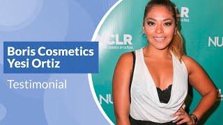 Boris Cosmetics - Yesi Ortiz Testimonial Thumbnail