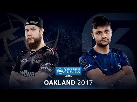 CS:GO - NiP vs. SK [Cache] Map 2 - Semifinal - IEM Oakland 2017