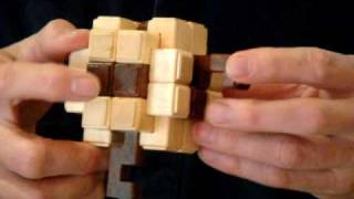 Assembly Of Coming Of Age Mkii 18 Piece Interlocking Burr Puzzle