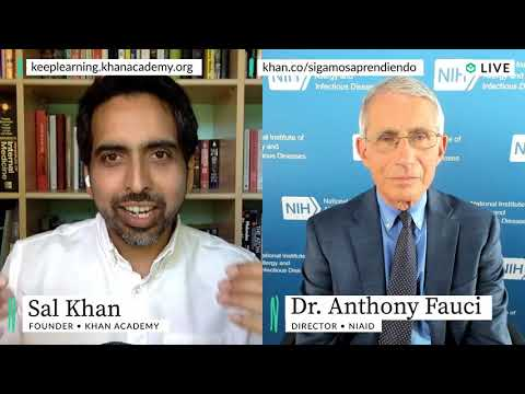 Dr. Anthony Fauci on a Covid-19 vaccine & reopening schools this fall | Homeroom with Sal