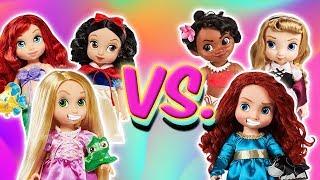 💧 ¡RETOS de ESCUELAS! Las Princesas Junior | Princesas de Disney