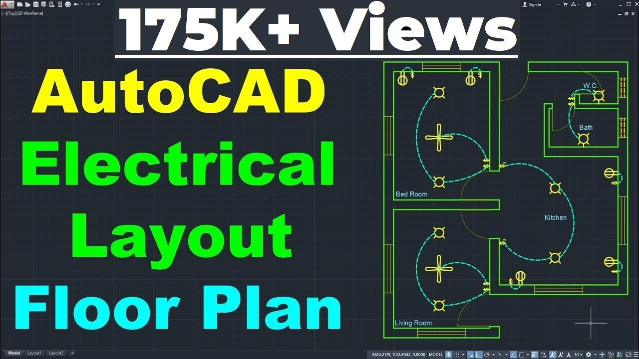 Autocad Electrical House Wiring Tutorial For Electrical Engineers