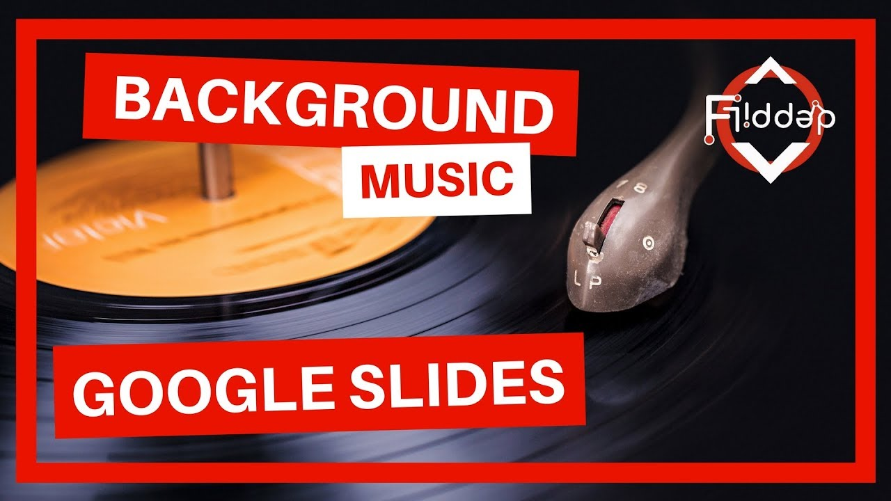 how to add background music to your google slides youtube