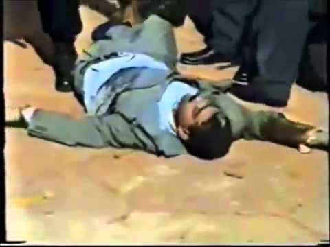 Fight in Azerbaijan - People vs Police