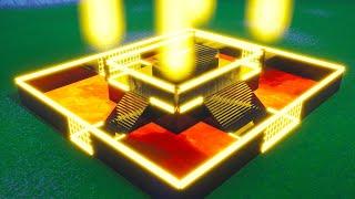 The BEST creative Lava, Neon 1vs1 Map in FORTNITE (code?)