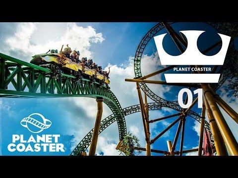 Jirka Hraje - Planet coaster - Stavíme zábavní park!
