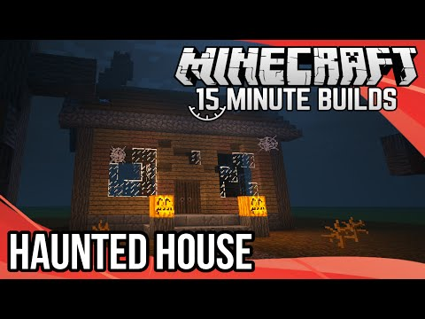 Minecraft 15-Minute Builds: Haunted House