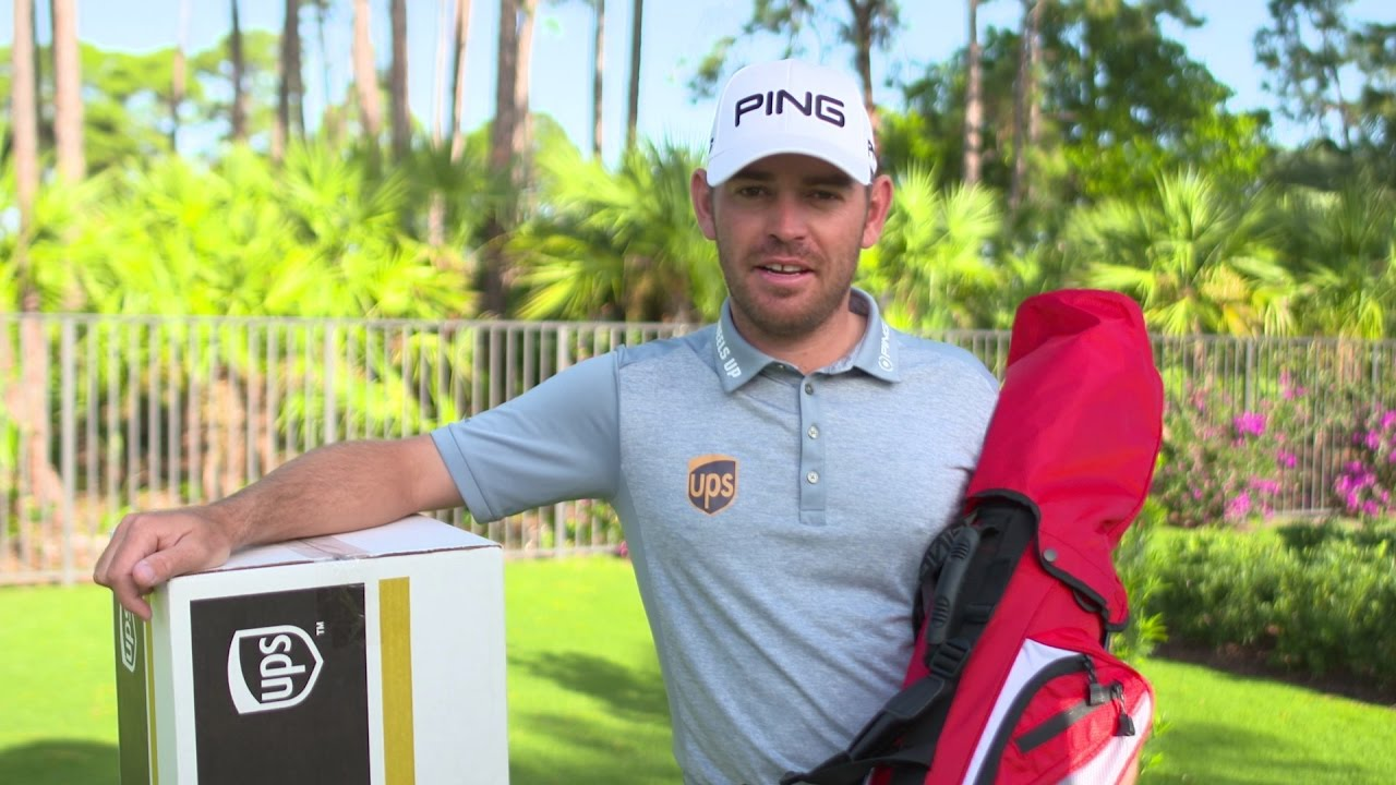 Bags 4 Birdies delivery from Louis Oosthuizen - YouTube