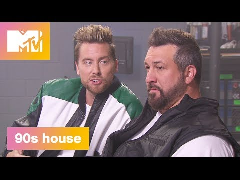 'Tearing Up Our Hearts ft. Joey Fatone' Official Sneak Peek | 90's House | MTV