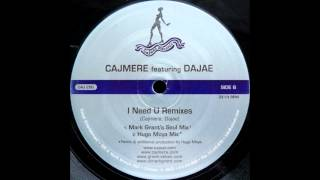 cajmere i need you hugo moya mix