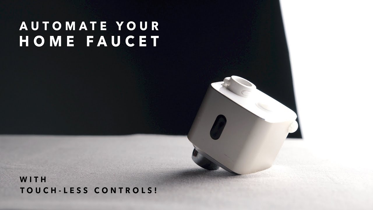Automate your Home Faucet with Touch-less Controls // Techo ...