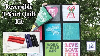 Reversible T-Shirt Quilt Kit