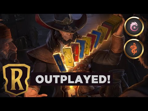 TWISTED FATE's Draw Fiesta | Legends of Runeterra Deck