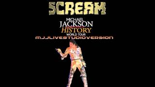 Michael Jackson- Scream- Live Studio Version- HIStory World Tour