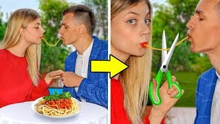PRANK ON FIRST DATE! Simple DIY Pranks on Friends & Family!
