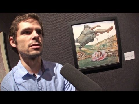 Matt Rota - Artist Spotlight (The National Arts Club, NYC 2013)