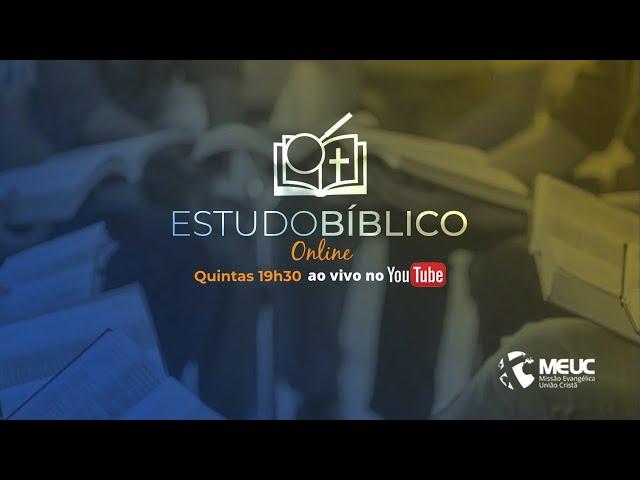 Estudo Bíblico MEUC Blumenau - Jonas 3.1-10 - Miriam Christem e Dionei de Liz