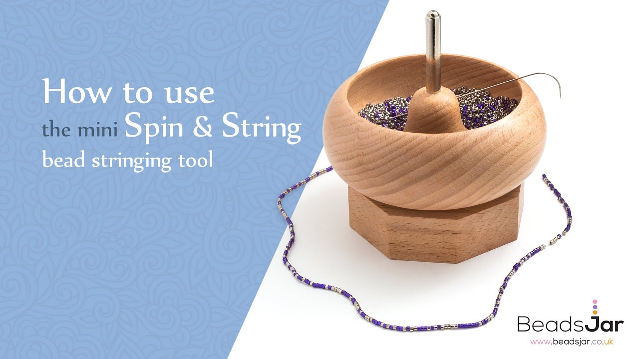 Seed Bead Spinner Curved NeedlesSpin and String Pack of 2 H105//1