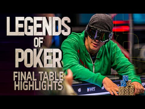 LEGENDS of Poker Final Table Highlights WPT Main Event