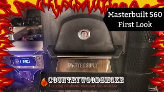 Masterbuilt Gravity Smoker 560 Review - First look masterbuilt gravity 560