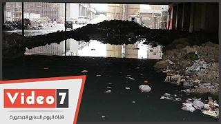 تفاقم أزمة الصرف الصحى فى بشتيل ..والأهالى: