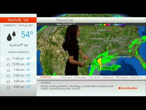 AccuWeather Channel and WeatherBug Widget
