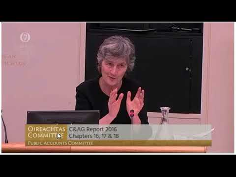 Catherine Connolly questions the Department of Social Protection on spending before the PAC