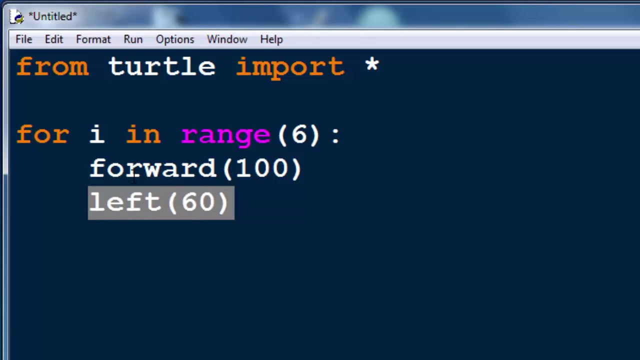 How to Draw a Hexagon in Python by using Turtle Graphics Module