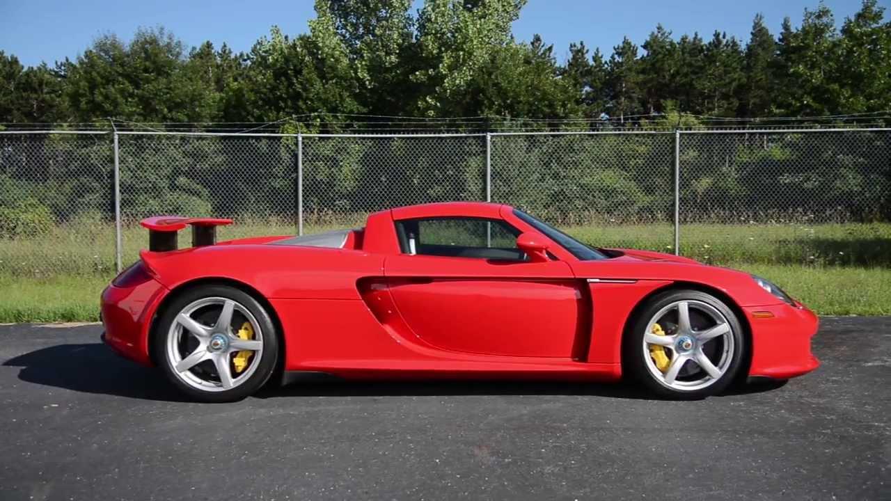 2005 Porsche Carrera GT - WR TV Walkaround - YouTube