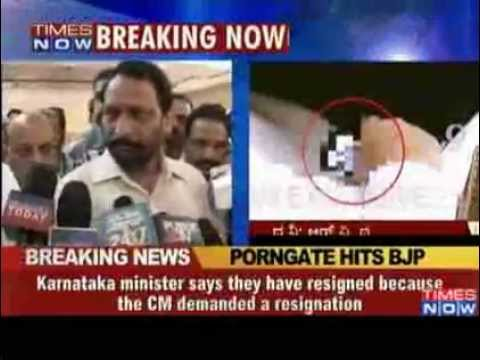 Karnataka Ministers Filmed Watching Porn In Assembly Resign To Save Partys Image