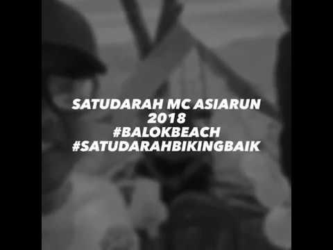 Satudarah Maluku Mc - Asia Run 2018 - Balok Beach Malaysia