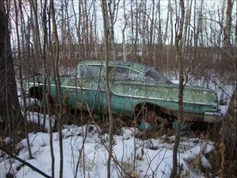Forgotten Cars Rusting And Rotting Away Youtube