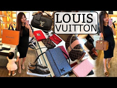🙋🏻 LET'S SHOP AT LOUIS VUITTON  👜 SHOPPING VLOG!!! | CHARIS | LVlover CC ❤️