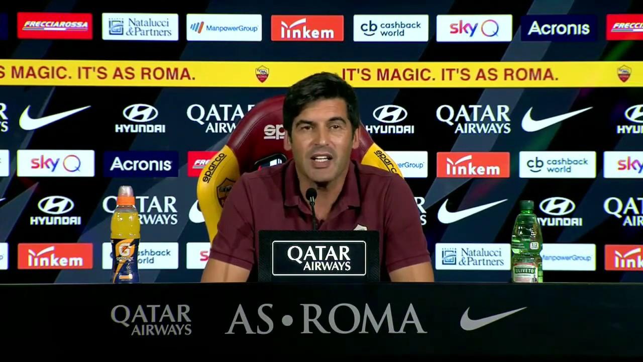 """Roma-Parma, Fonseca: """"Qui le sconfitte non sono assorbite correttamente"""""""