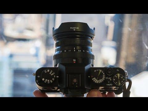 Fujifilm XF 16mm F2.8 quick review