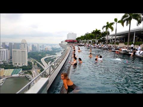 Singapore Marina Bay Sands Hotel Pool - Skypark 57th Floor