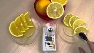 видео Рефрактометр для фруктов и соков