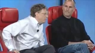 Bill Gates y Steve Jobs juntos. Subtitulado español completo.